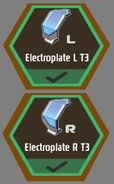 T3 Electroplates