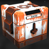 Rusted Salvage Crate