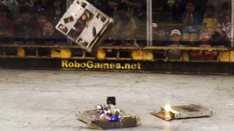 K2 vs. Terrible Toos - RoboGames 2015