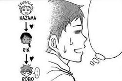 Kazama x Rin x Robo