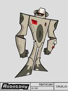 CRUELIO GANGSTA ROBOT copie