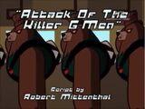 Attack Of The Killer G-Men