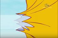 Edge of the Air Balloon Bursted
