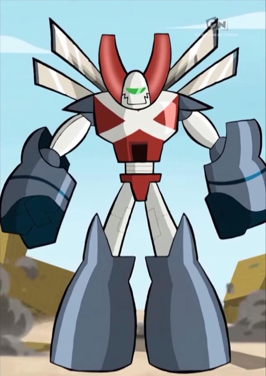 Robotman's Superactive Mode | Robotboy Wiki | FANDOM ...