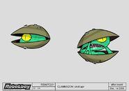 RB067C231 C sc120 CLAMMADON shell ajar copie copie