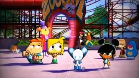 Robotboy at the Cartoon Network funfair