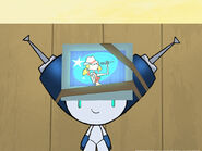 Remote out of control robotboy