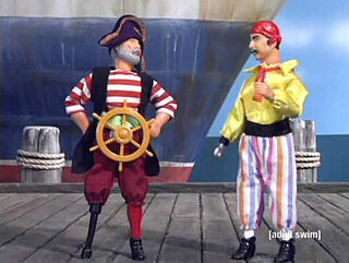 'Drivin' Me Nuts' Pirate