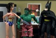 WonderWoman Hulk Batman