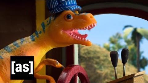 Dinosaur Train Robot Chicken Adult Swim