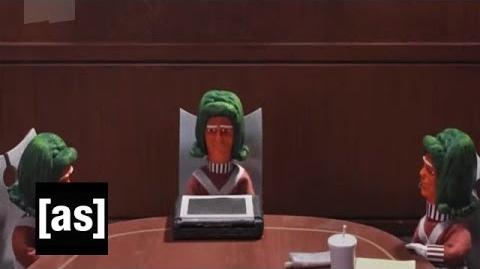 Oompa Loompa Brainstorm - Robot Chicken - Adult Swim