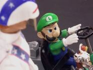 Luigi at the start