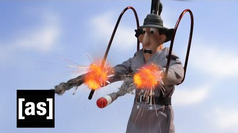 Gadget Weaponized Robot Chicken Adult Swim
