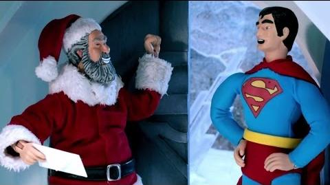 Santa Claus Vs. Superman Robot Chicken Adult Swim