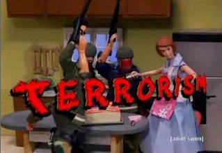 Image result for robot chicken terrorism