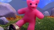 Pink Robot Chicken gummy bear