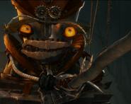 Robots Madame Gasket Scared