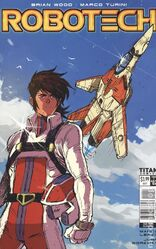 Robotech issue 2 Cover D