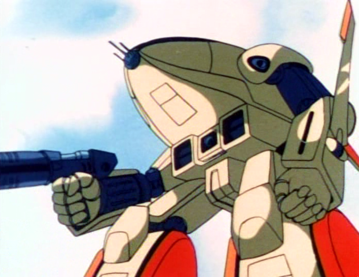Robotech the masters sucked