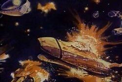 REF Mars Division fleet destroyed by Invid