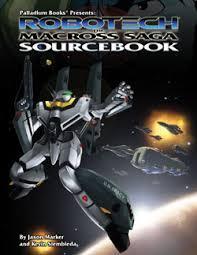 Macross RPG cover