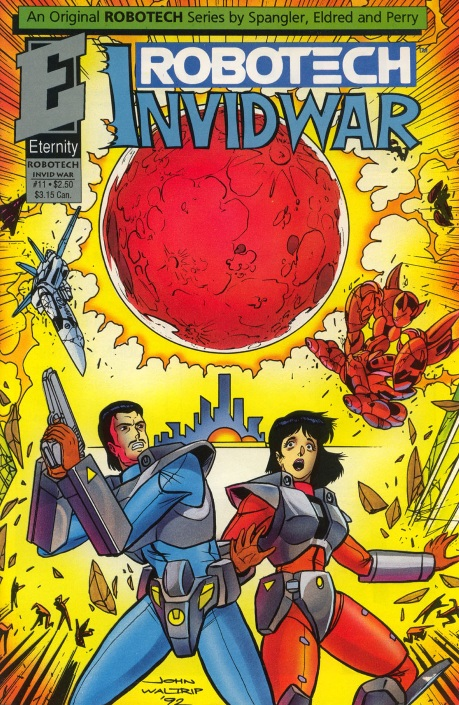 Robotech: Invid War 11: Under a Blood Red Sky | Robotech