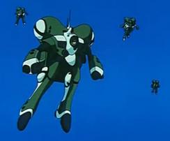 Female Power Armor