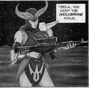 Wolverine Rifle Bela Sentinels Comic