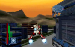 Robotech Battlecry Defending Civil center 1