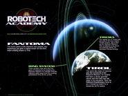 Sentinels planet Robotech Academy