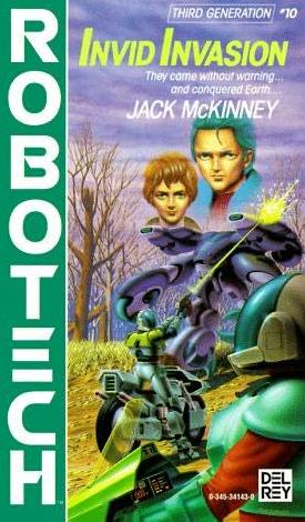 Invid Invasion Novel Cover