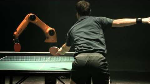 The Duel Timo Boll vs. KUKA Robot