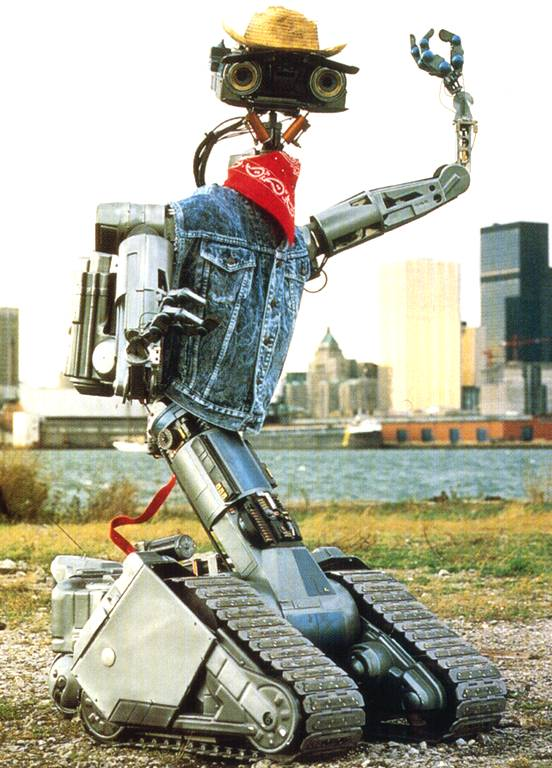 Image result for Johnny 5 is alive