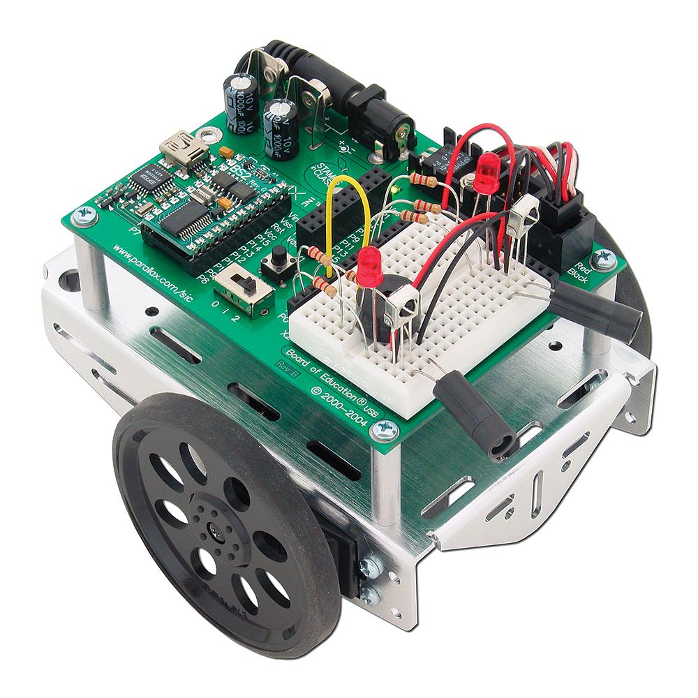 Boe Bot Robot Wiki Fandom Powered By Wikia Circuit Board