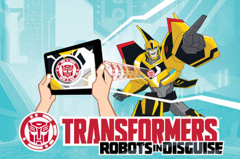 Robots in Disguise mobile game title