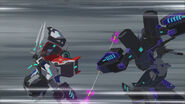 Battlegrounds2 Optimus and Megatronus fight