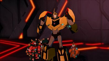Bumblebee and the Mini-Cons