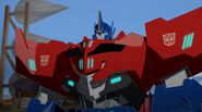 TRID E 43 Optimus Prime Signaute Red & Blue
