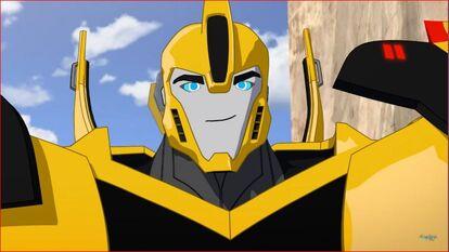 Bumblebee smile