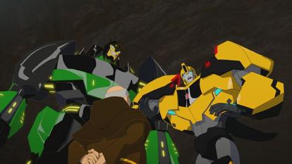 Grimlock, Gunter and Bumblebee