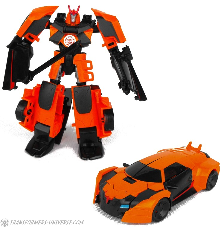 transformers robots in disguise warrior class sideswipe figure instructions