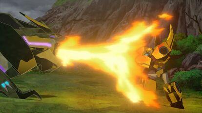 RiD2015 - The Golden Knight - Bumblebee Flambe
