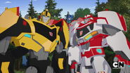 Transformers RID 2015 - Bumblebee, Ratchet, and Optimus Prime