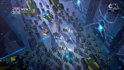 Heroes and Steeljaw is embattled