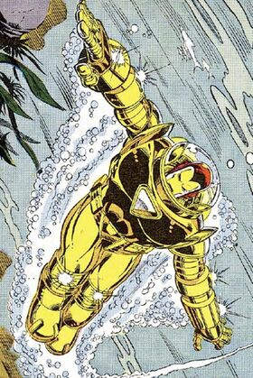 Anthony Stark (Earth-616) with Hydro Armor