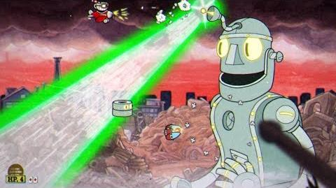 Cuphead Dr Kahl's Robot Boss Fight 12