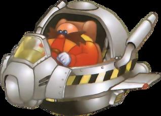 Eggman ship