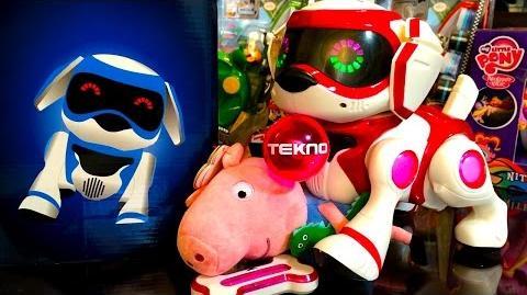 Tekno Naughty Robotic Puppy Love Dog