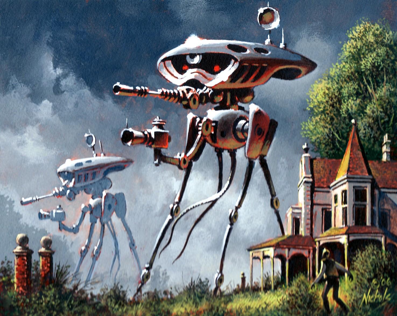 War Of The Worlds Martian Fighting Machine