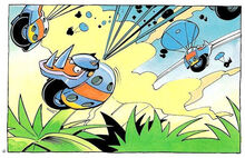 Rhinobots in Sonic Adventures